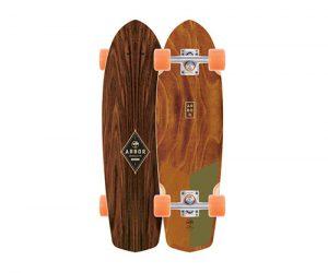 arbor bamboo skateboard pocket rocket