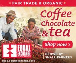 fair trade organic coffee, chocolate, tea by equal exchange