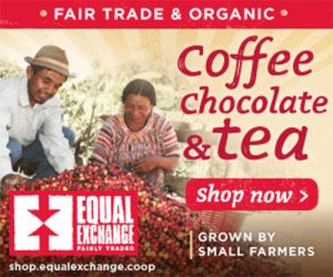 fair trade organic coffee, chocolate, tea by equal exchange