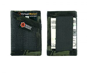 firehose money clip wallet by recycled firefighter