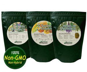 organic gardening heirloom organics non gmo non hybrid seeds