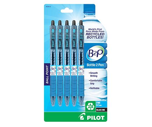 pilot b2p recycled ballpoint pen