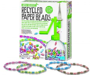 recycled paper beads kit by 4M