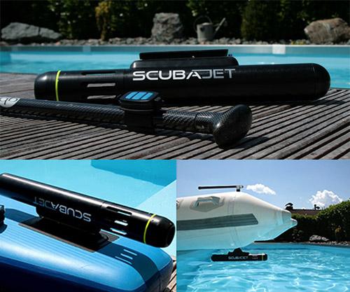 scubajet water sports jet engine