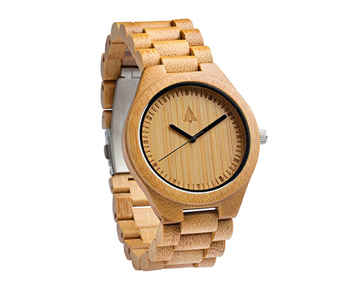 wood bamboo eco watch by tree hut