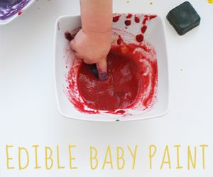 wee can too edible finger painting art supplies for kids