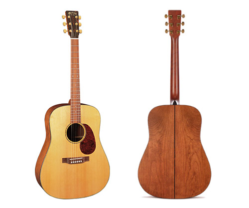 acoustic guitar by martin