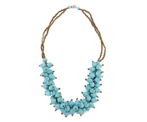 beaded necklace by african promise