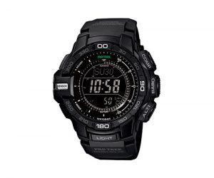 casio pro trek solar powered watch