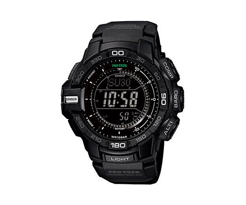 casio pro trek solar powered watch