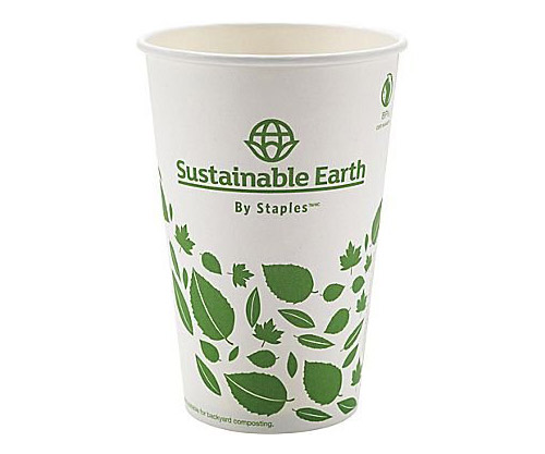 compostable paper cups by staples