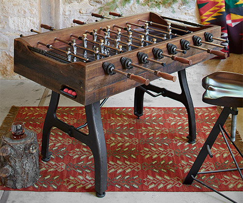 foosball table by sundance