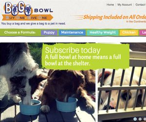 pet food by bogo bowl
