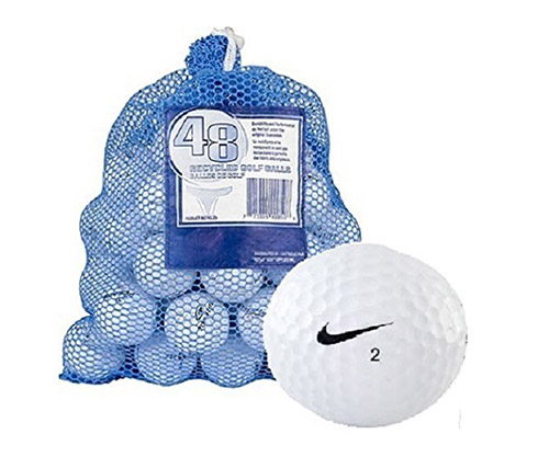 recycled golf balls by nike