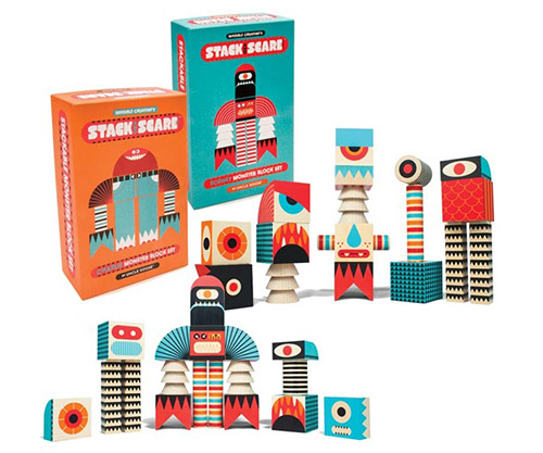stacking blocks by stack and scare
