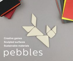 tangram puzzle by pebbles