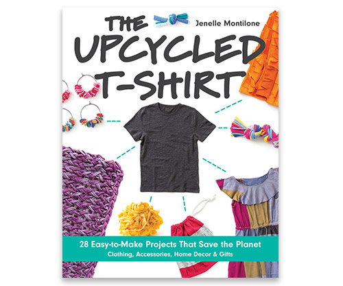 Learn how to upcycle t-shirts
