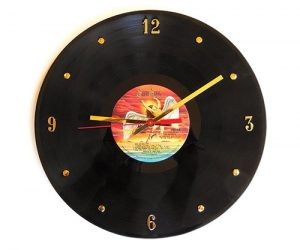vinyl record wall clocks by records and stuff