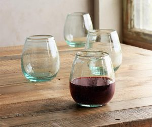 wine glasses by sundance