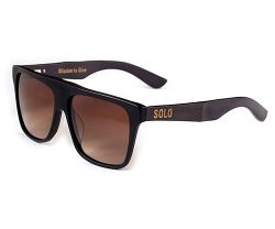 polarized bamboo sunglasses